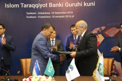 (1) Asaka Bank - First Deputy Chairman of the Board of Asaka Bank, Mr Rustam Kasimov USD 7.5 mln.JPG